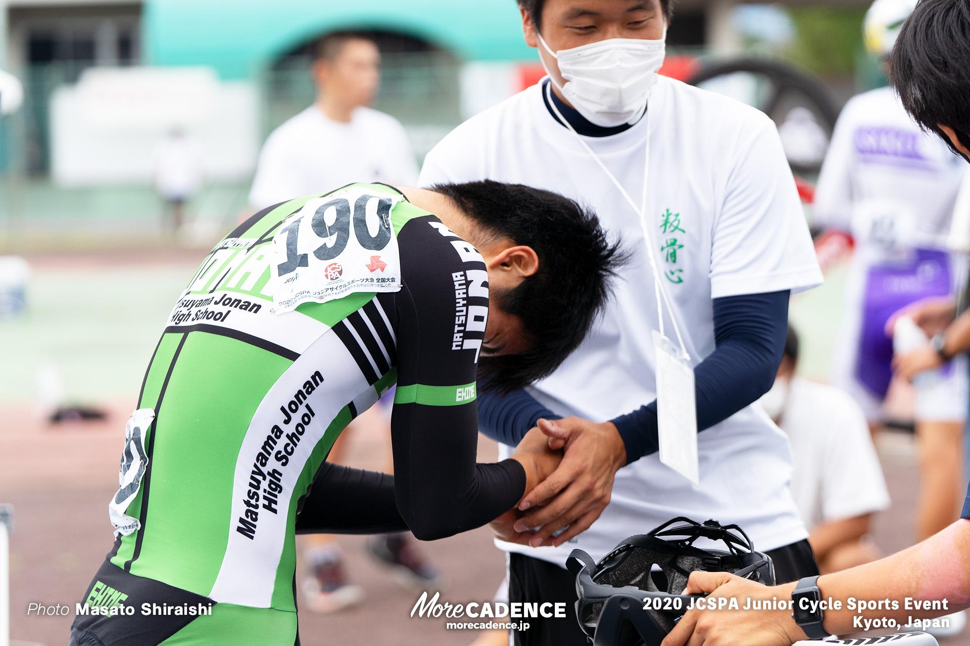 佐藤壮志(松山城南) ジュニアサイクルスポーツ大会 スクラッチ