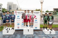 東北高校 九州学院 松山城南 チームスプリント JCSPA ジュニアサイクルスポーツ大会