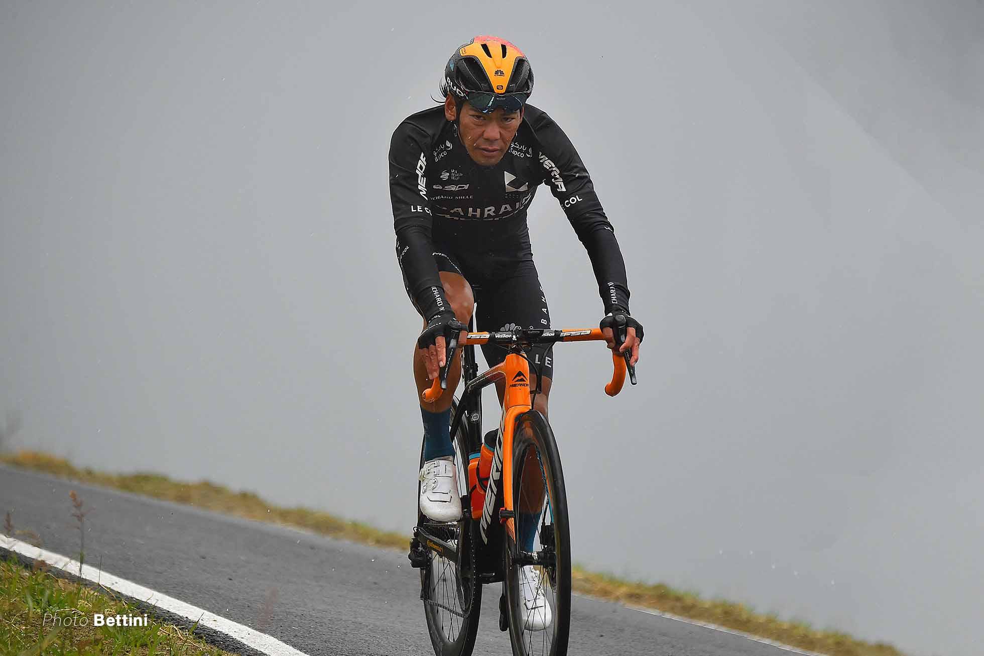 新城幸也 ジロ2020 第12ステージ photo Bettini