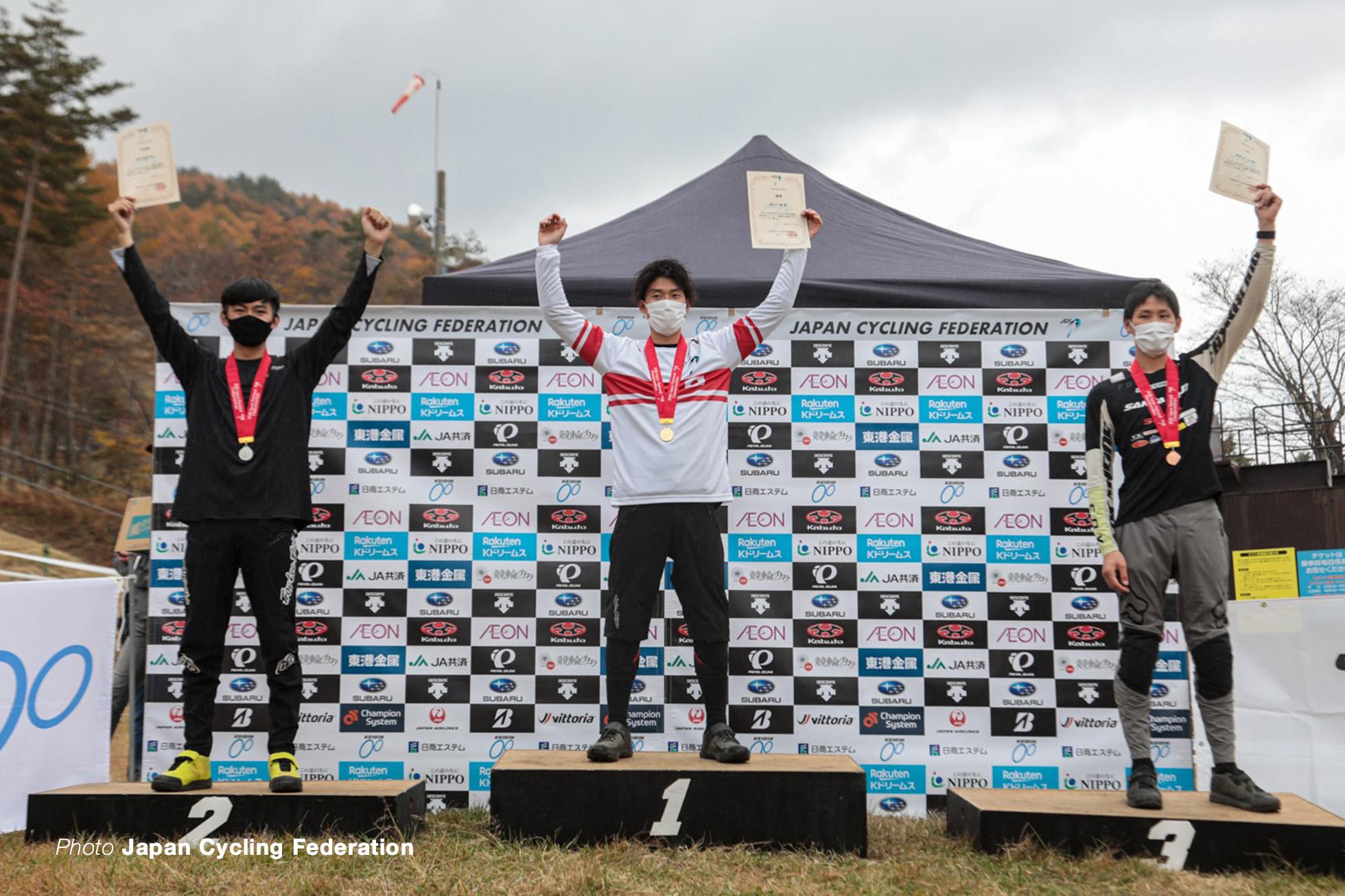 第33回全日本自転車競技選手権 DHI 男子エリート