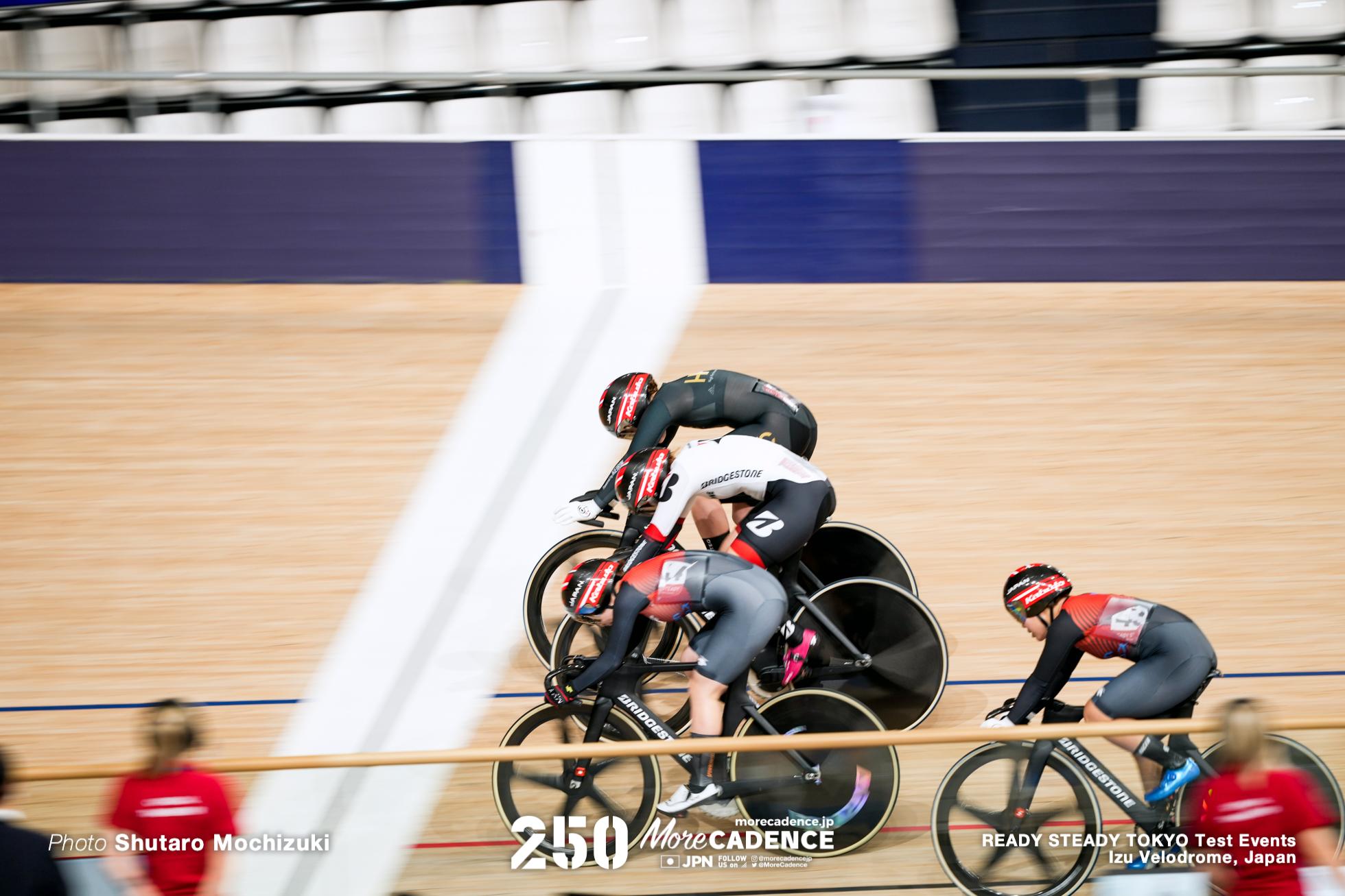 女子ケイリン決勝, READY STEADY TOKYO 自転車競技トラック