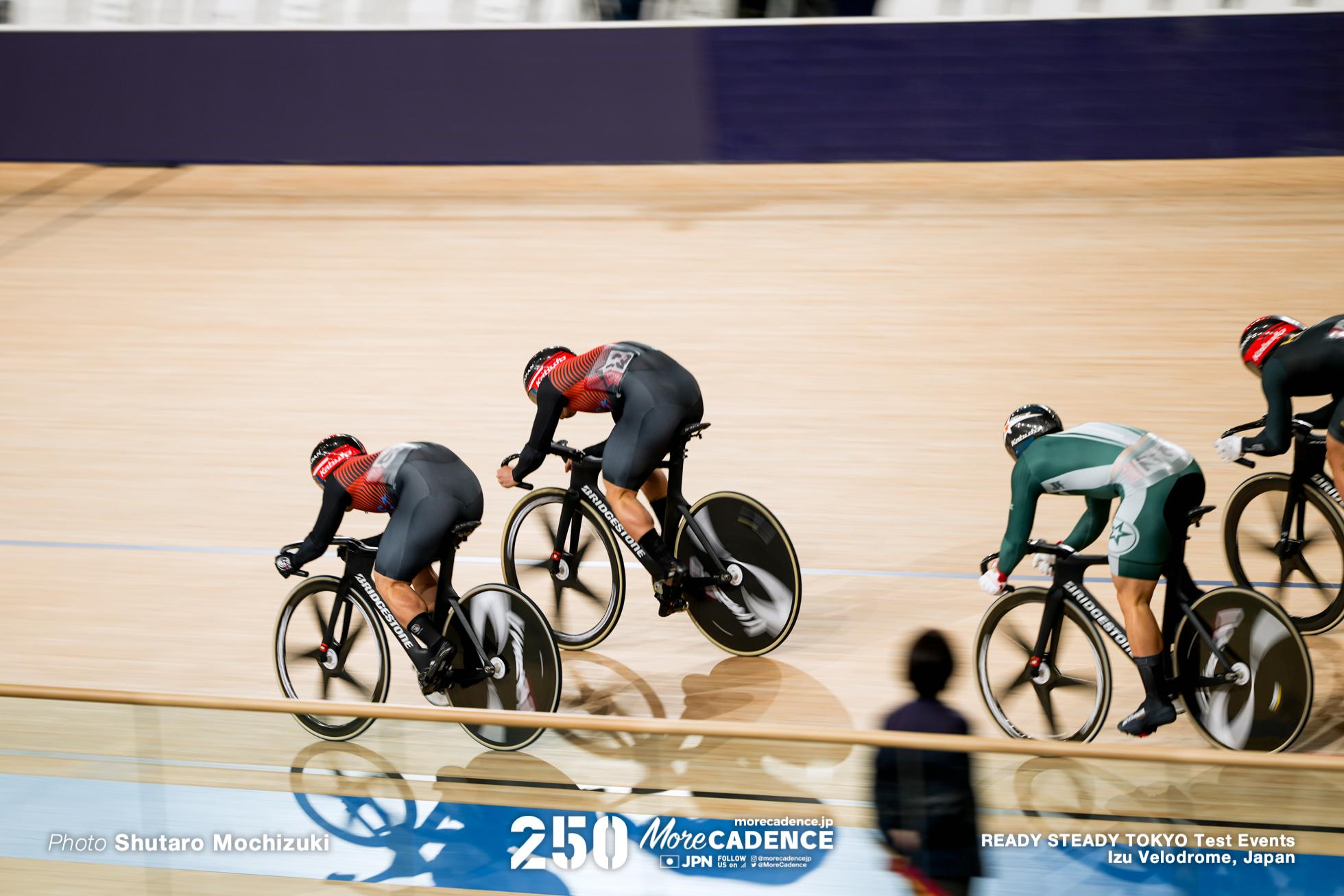 男子ケイリン決勝, READY STEADY TOKYO 自転車競技トラック