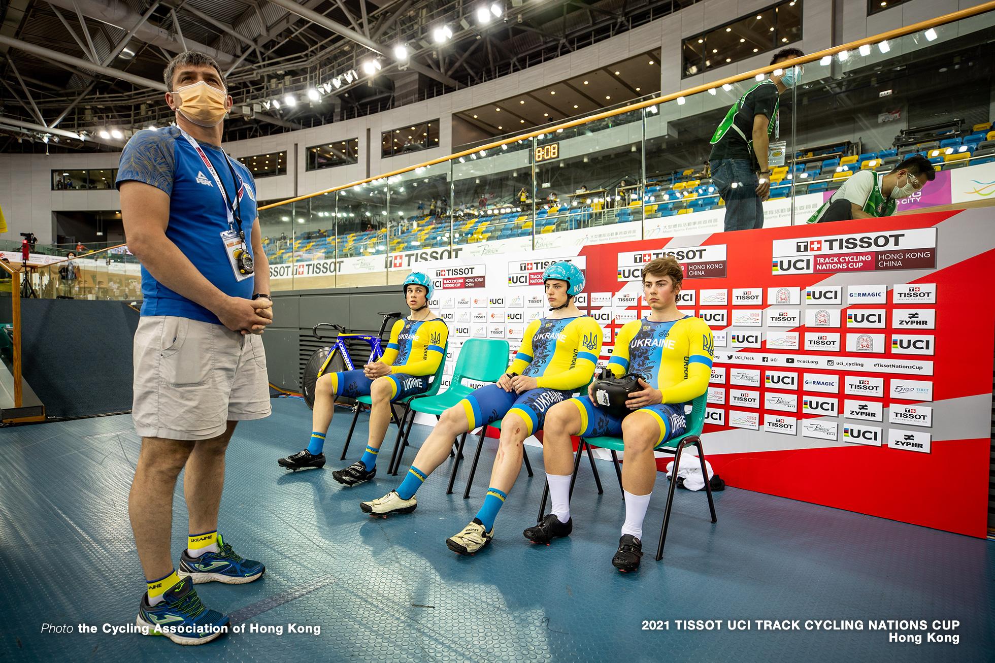 Men's Team Sprint, TISSOT UCI TRACK CYCLING NATIONS CUP - HONG KONG