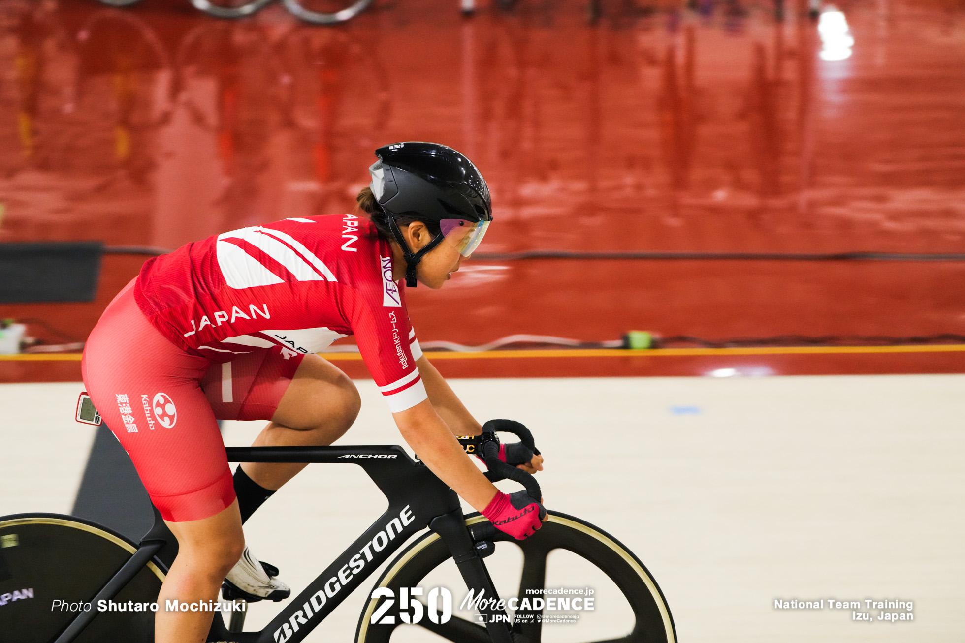 中村妃智, オリンピック自転車トラック競技日本代表