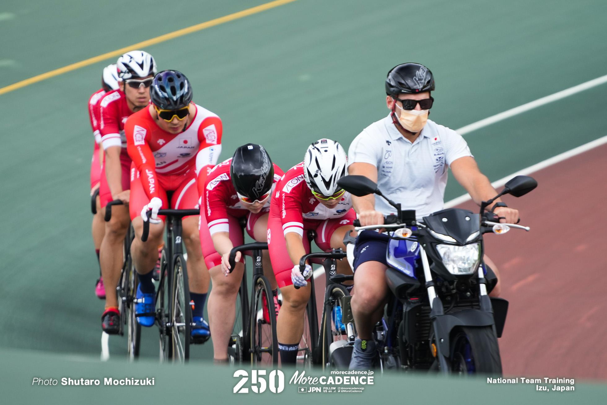 オリンピック自転車トラック競技日本代表