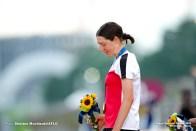 アンナ・キーセンホーファー Anna Kiesenhofer (AUT), JULY 25, 2021 - Cycling : Women's Road Race during the Tokyo 2020 Olympic Games at the Fuji International Speedway in Shizuoka, Japan. (Photo by Shutaro Mochizuki/AFLO)