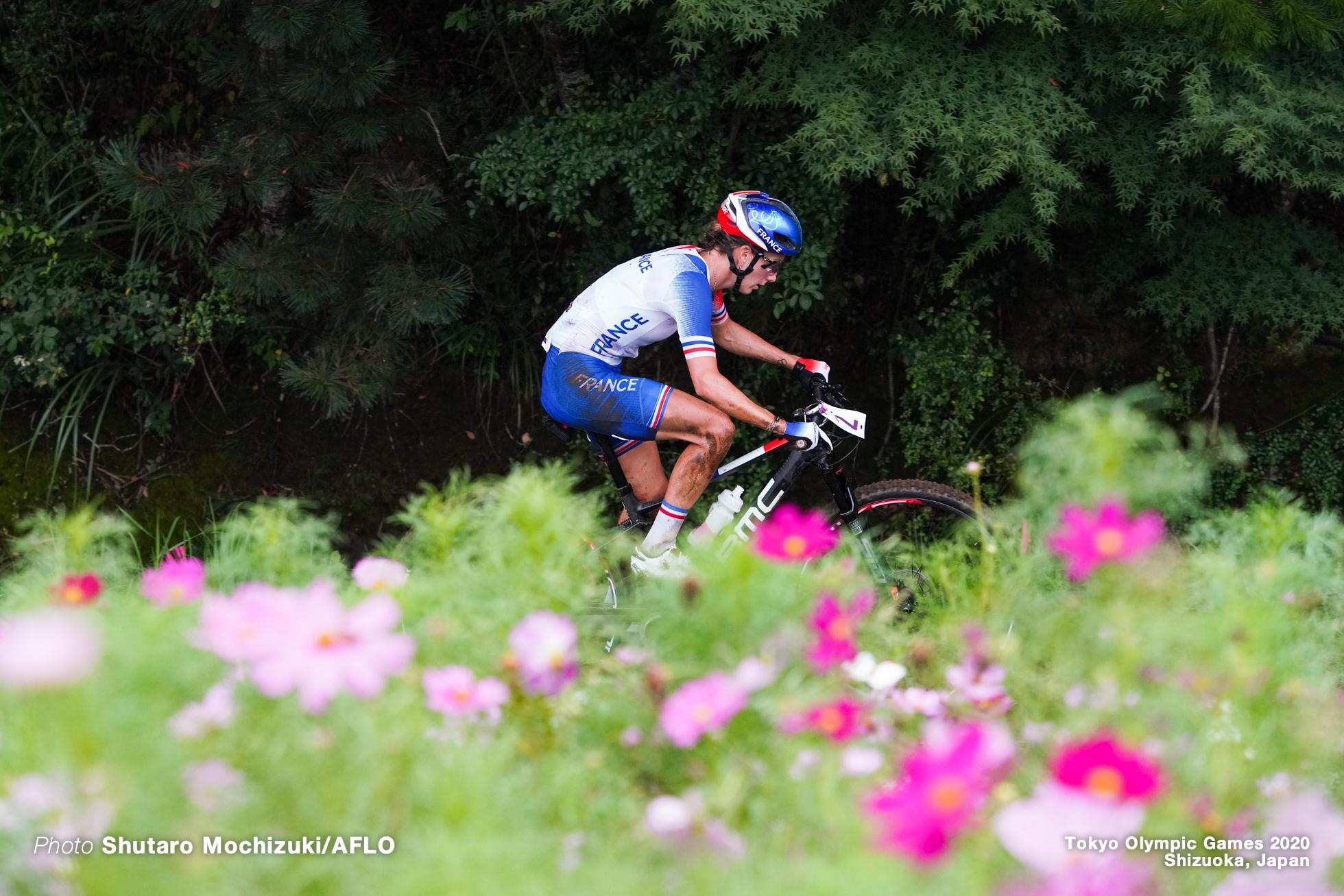 ポリーヌ・フェラン=プレヴォ Pauline Ferraand Prevot (FRA), JULY 27, 2021 - Cycling : Women's Cross-country during the Tokyo 2020 Olympic Games at the Izu MTB Course in Shizuoka, Japan. (Photo by Shutaro Mochizuki/AFLO)