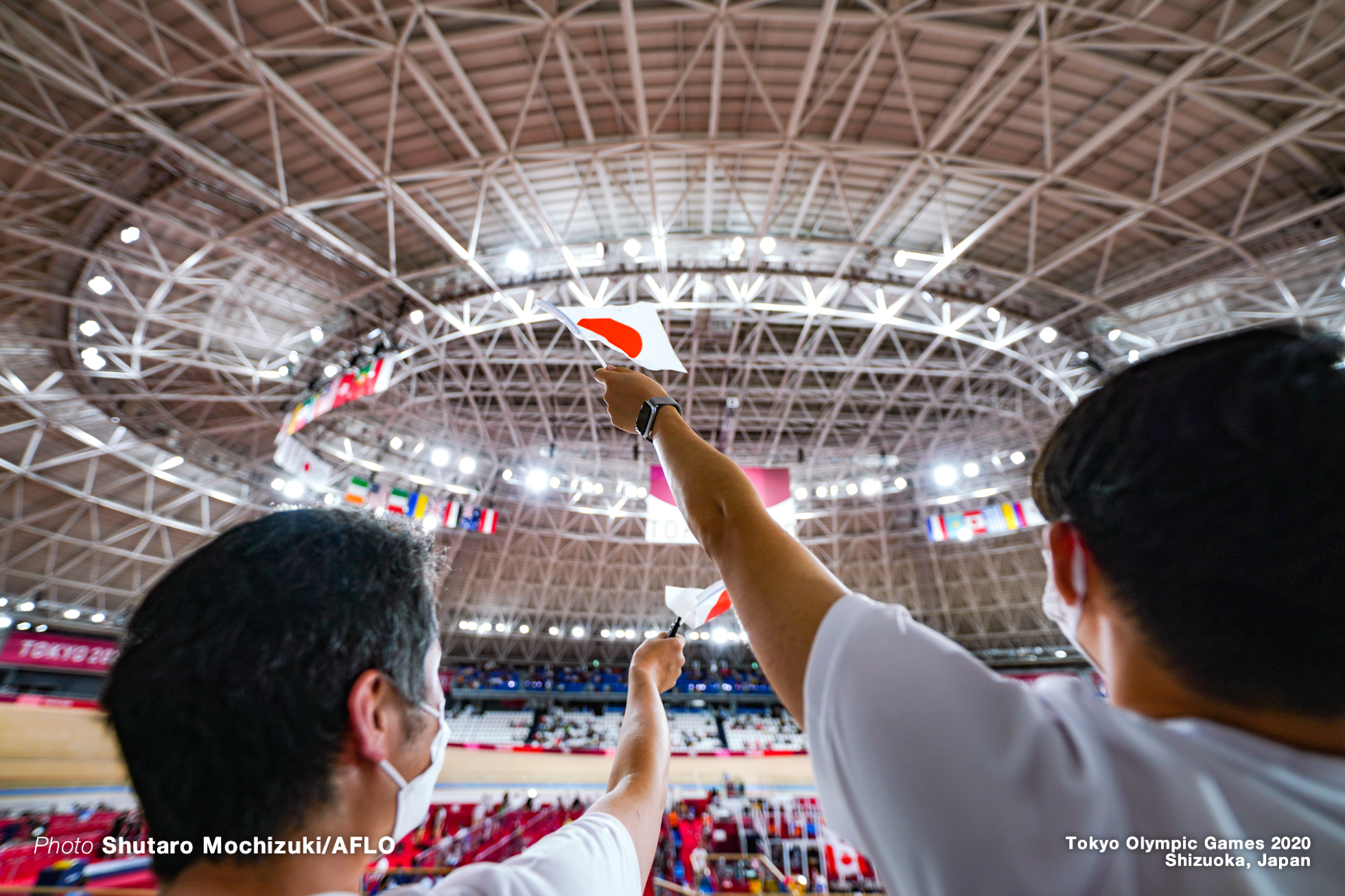 AUGUST 2, 2021 - Cycling : during the Tokyo 2020 Olympic Games at the Izu Velodrome in Shizuoka, Japan. (Photo by Shutaro Mochizuki/AFLO)