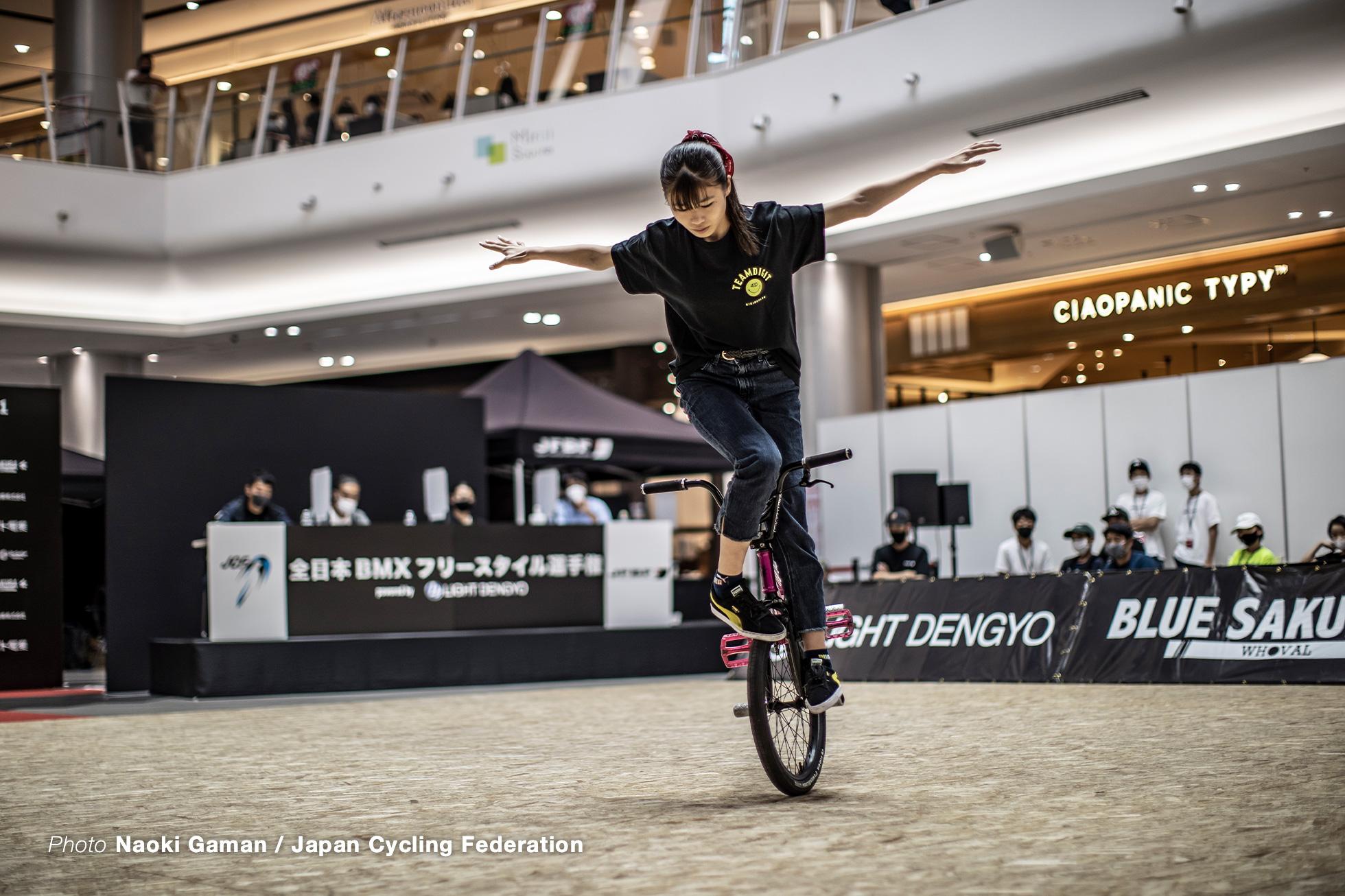 中川きらら 第5回全日本BMXフリースタイル選手権フラットランド