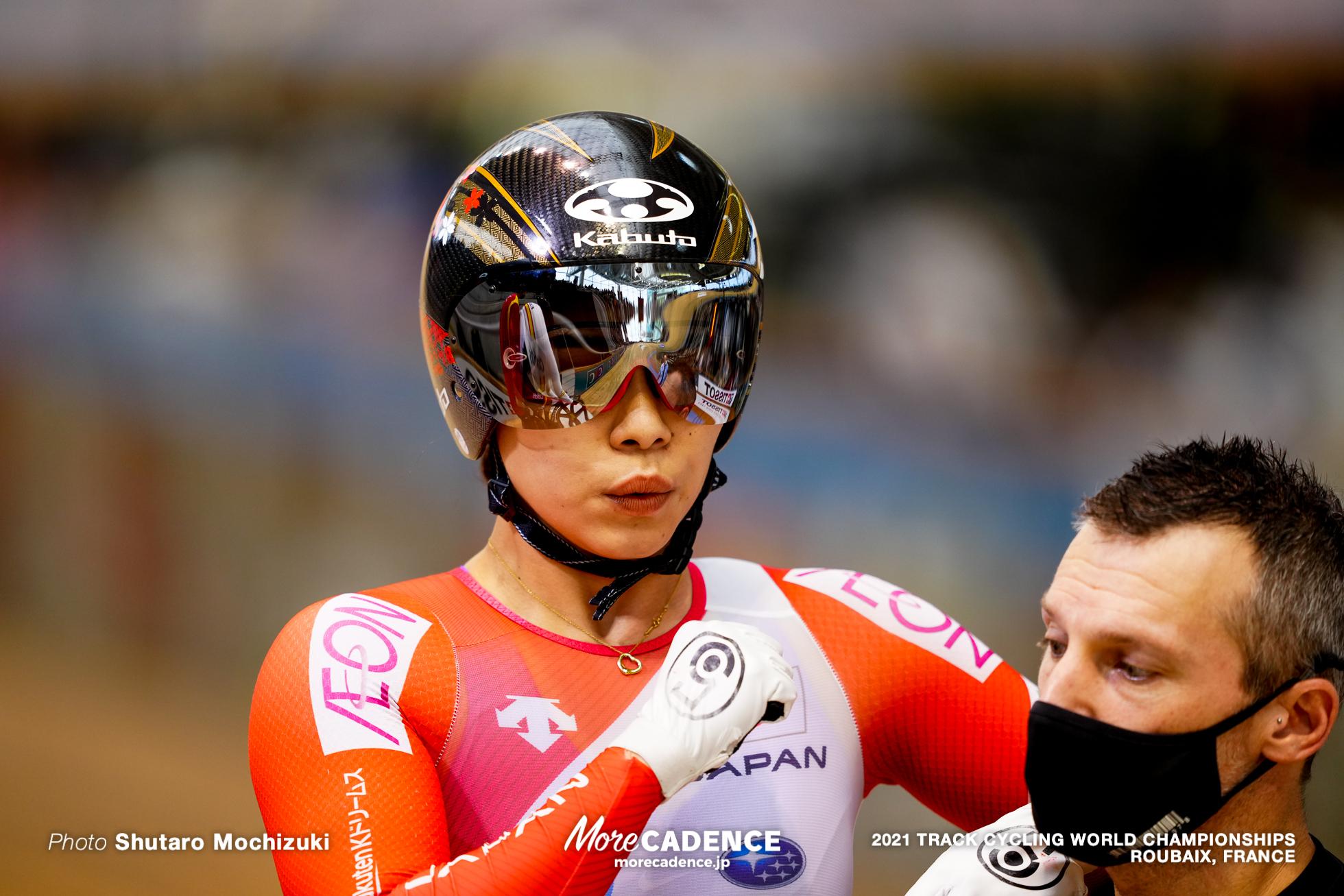 Women's Sprint 1/16 Finals / 2021 Track Cycling World Championships, Roubaix, OHTA Riyu(JPN)太田りゆ