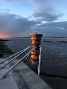 The Morecambe Time & Tide Bell (photo ©Ollie Field)