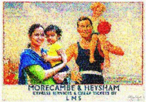 Morecambe Postcard-Anthony-D-Padgett