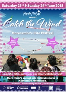 Catch The Wind Morecambe Kite Festival
