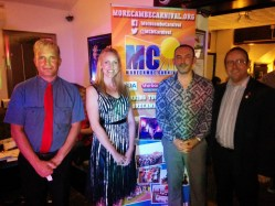 Morecambe Councillors out in force at MC15 Race Night