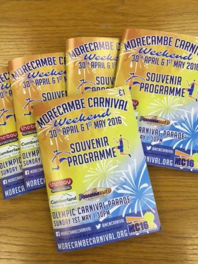 MC16 Souvenir Programme On Sale