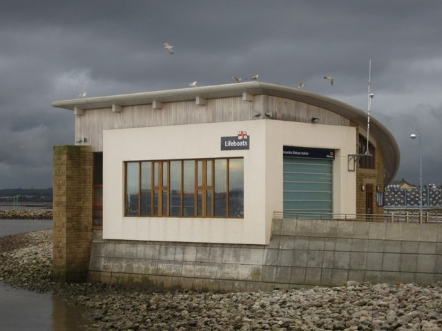 Morecambe Lifeboat Station Mud and Sand Rescue