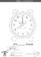 » TimeWorksheets Free Educational Coloring Pages