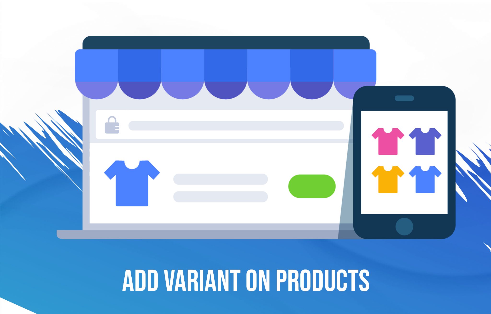 Product variant in eCommerce store