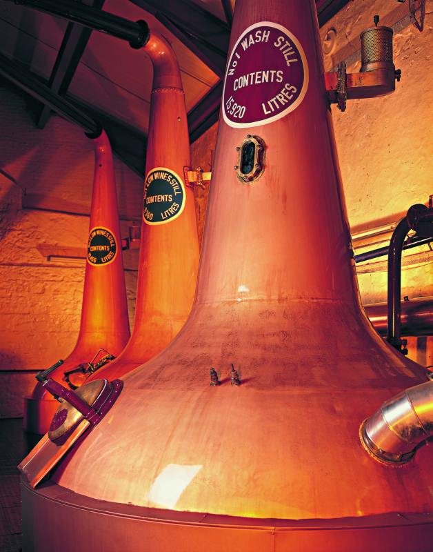The group of three stills at Bushmills