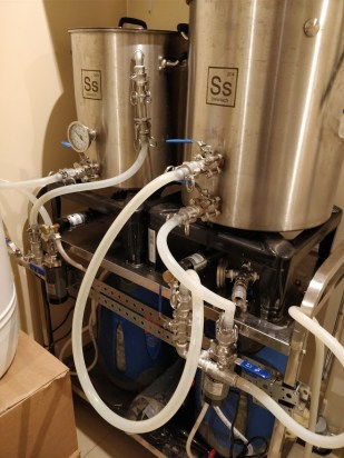 Julien's brewing gear