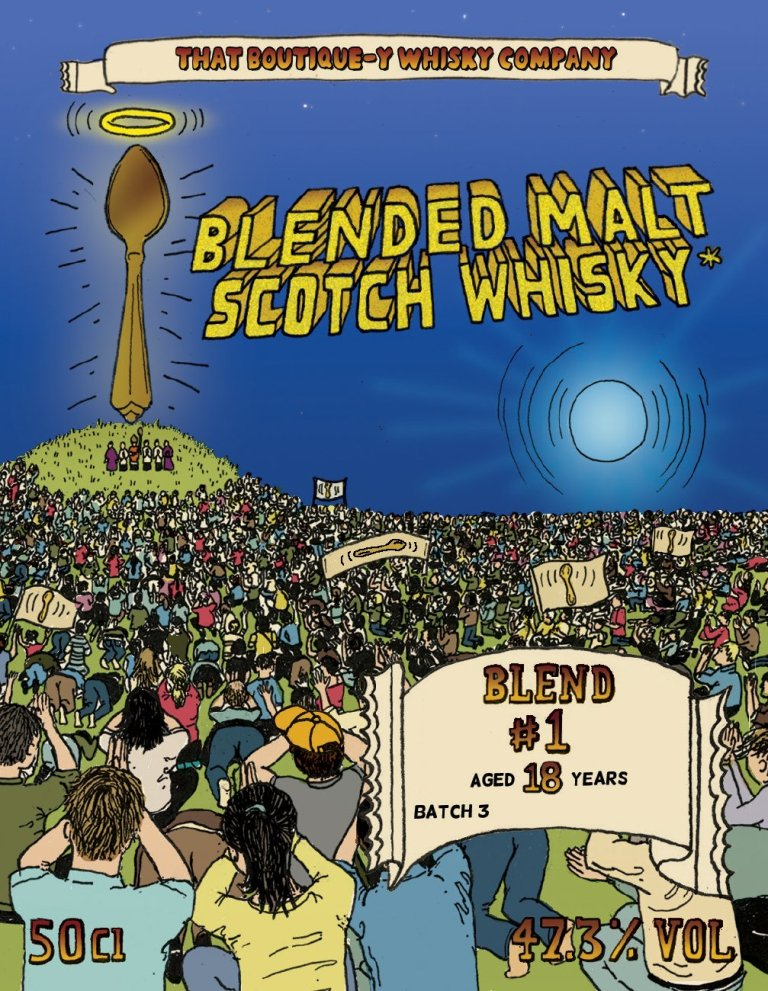 The blended malt #1 18yo batch 3 label from TBWC