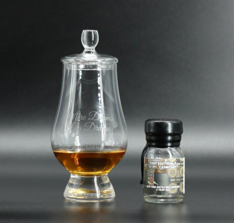 New York Distilling Co rye spirit in the glass