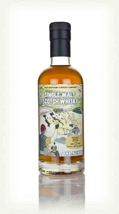 The bottle of Ben Nevis 21yo batch 8 TBWC