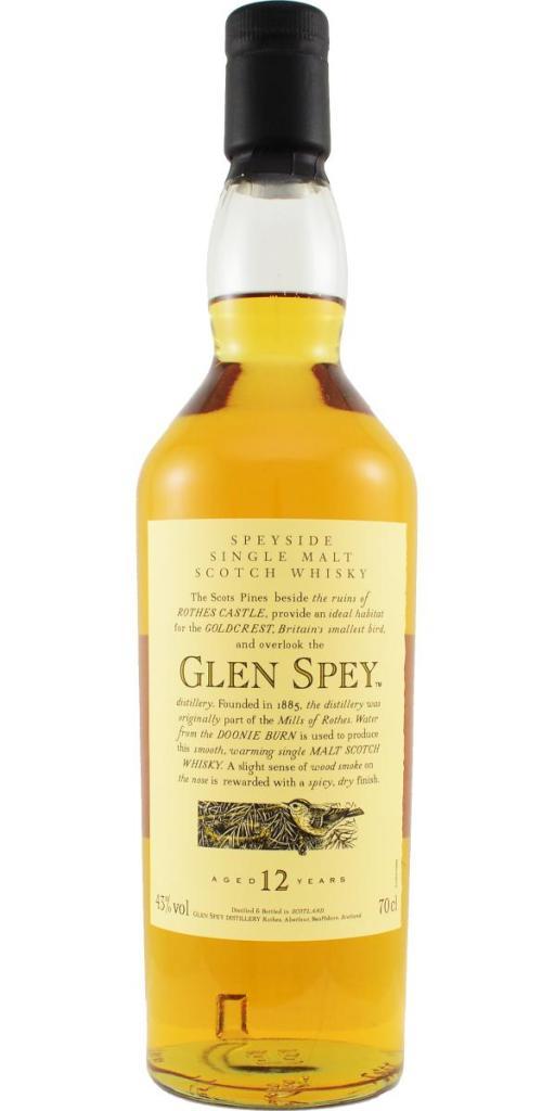 Glen Spey 12yo Flora & Fauna bottle