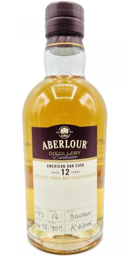 Aberlour 12-year-old ex-bourbon distillery exclusive
