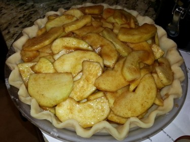 Filled Apple Pie