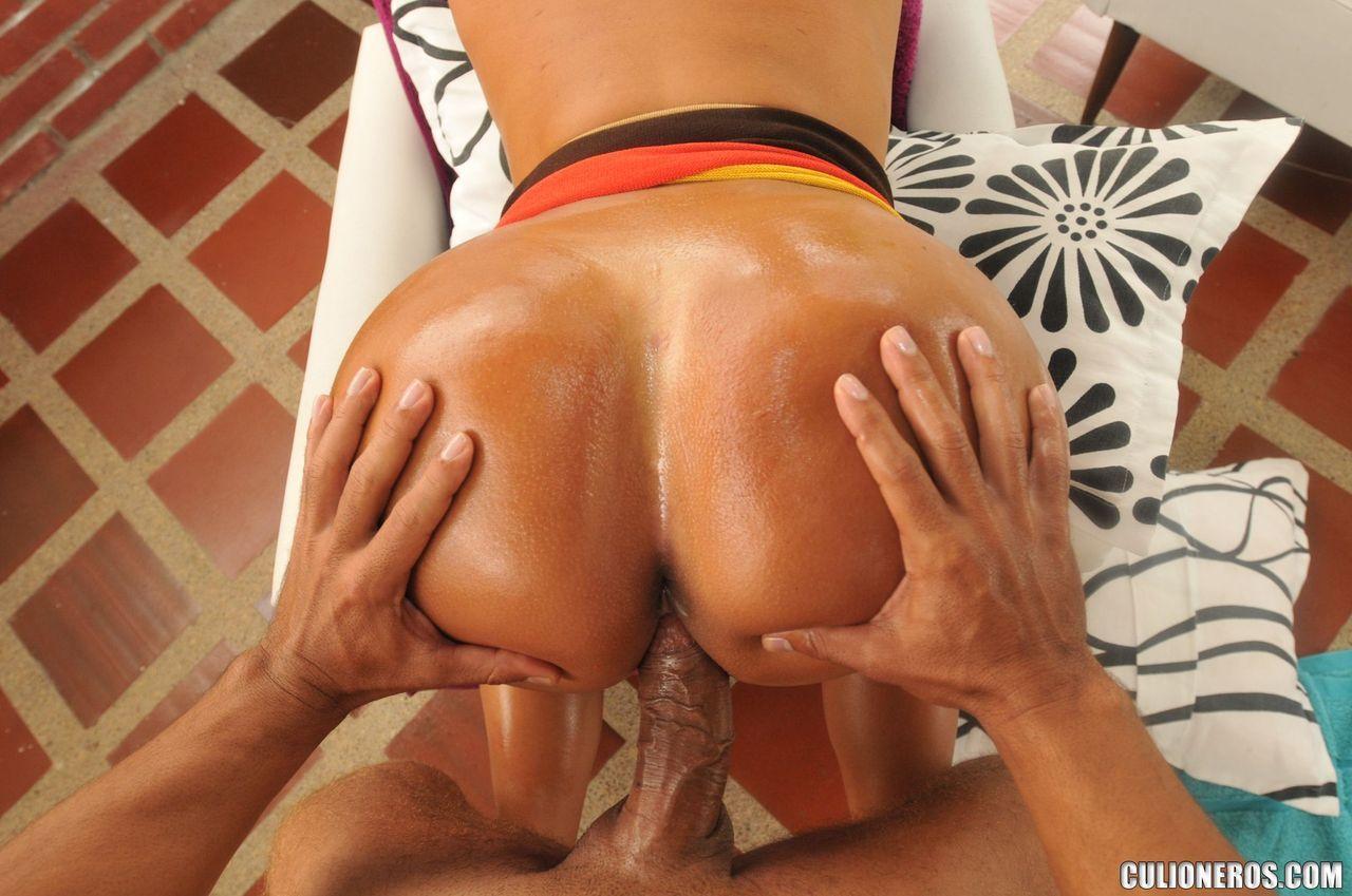 big butt colombian rich housewife sandra leon gets big dick