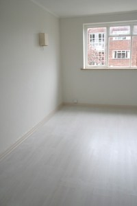Paint your laminate flooring, credit crunch style!  THE ...