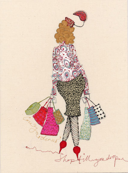 Shop Til You Drop - Louise Gardiner