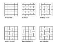 How to tile bathrooms or kitchens using Metro or subway ...