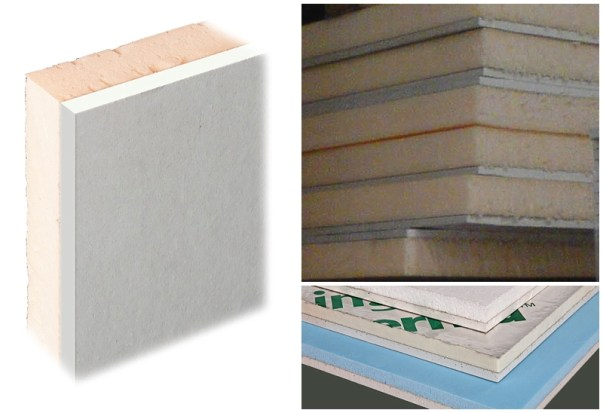 Insulated Plasterboard