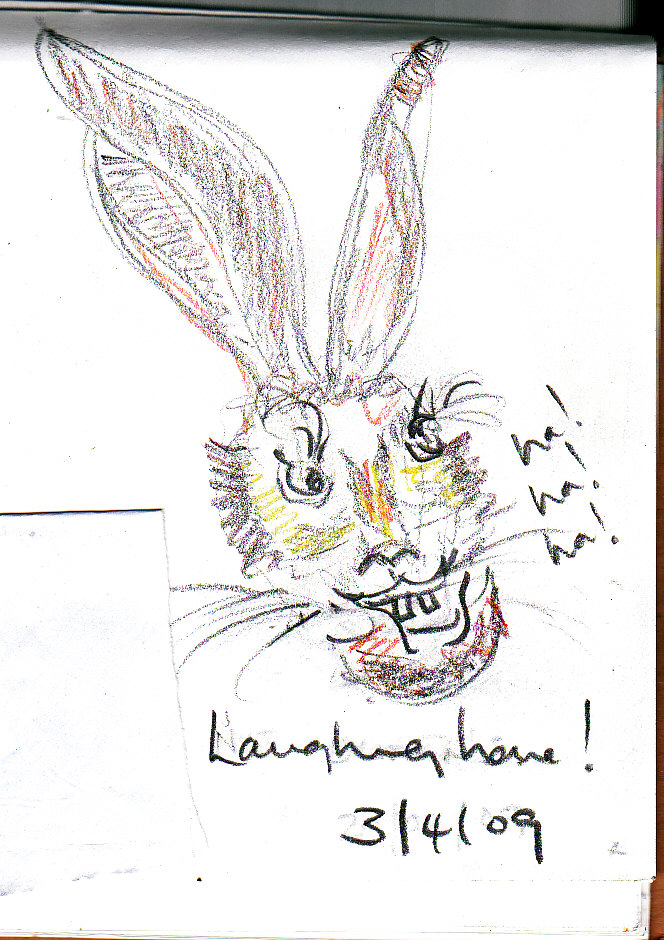 laughing hare
