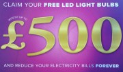 FREE LED Light Bulbs - typically worth £500