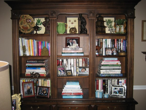 Arranging Books On Bookshelves