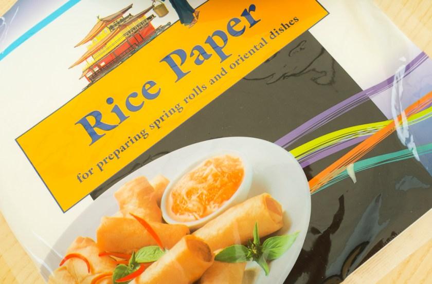Sommerrollen-Reispapier
