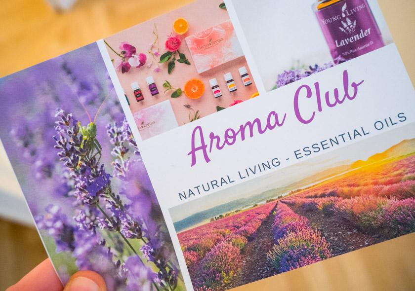 Young-Living-Aroma-Club-Broschüre