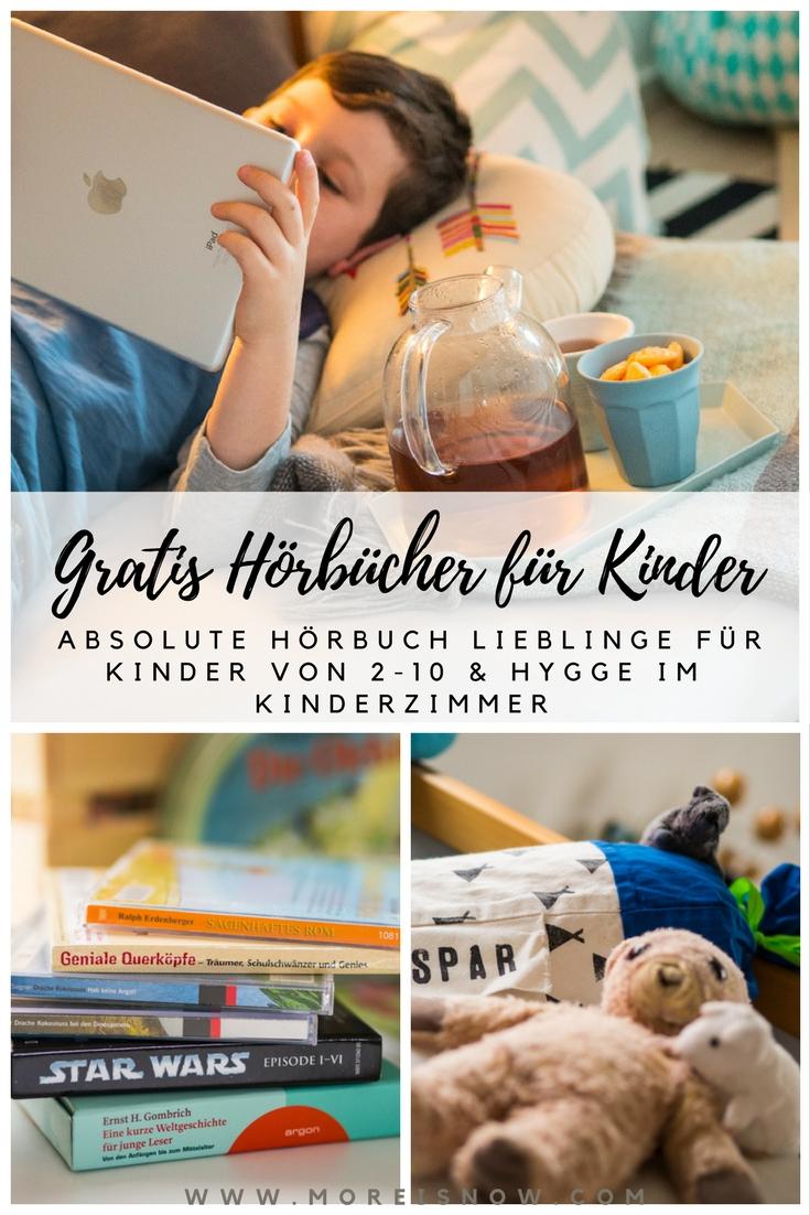Gratis Hörbücher für Kinder Collage