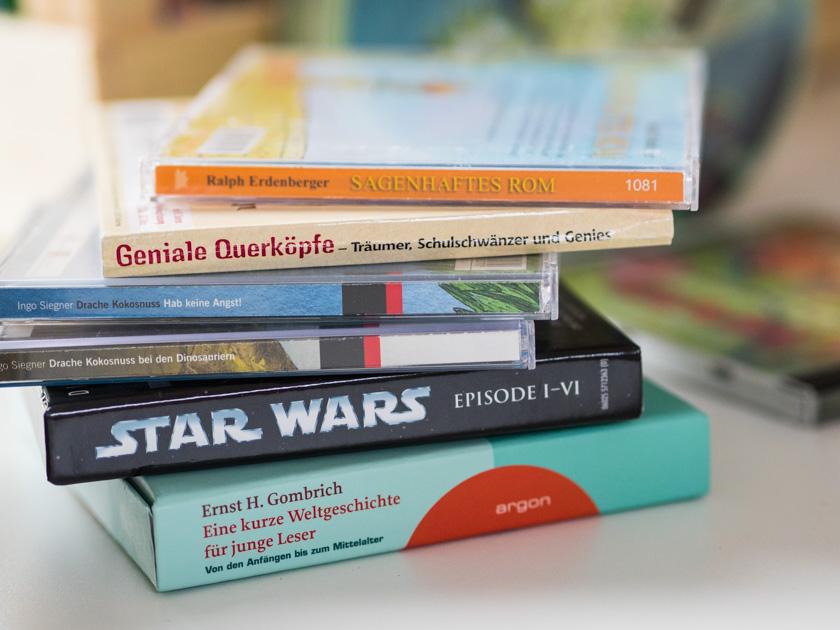 Gratis Hörbücher für Kinder Hörbücher Stapel