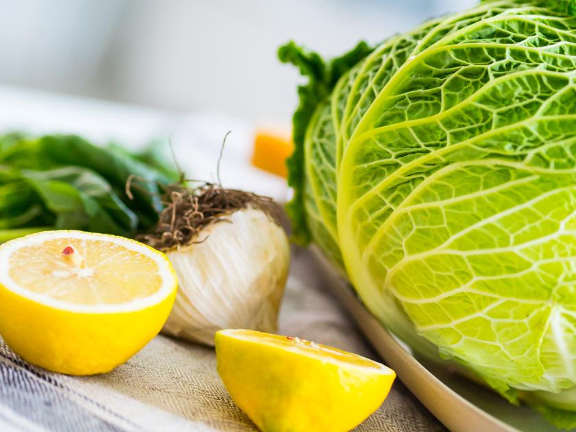 Grünkohl Pesto - Grünkohl, Zitronen, Knoblauch