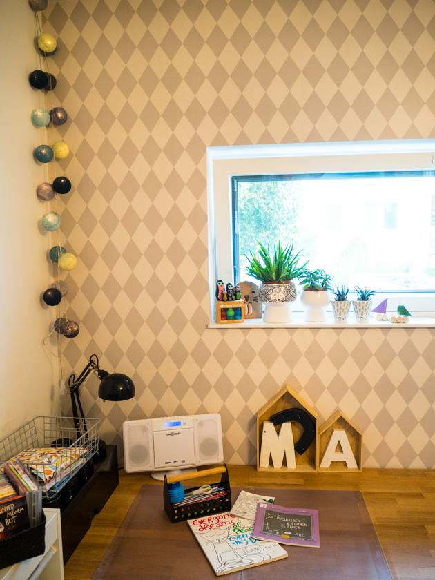 Ordnung im Kinderzimmer - Malecke