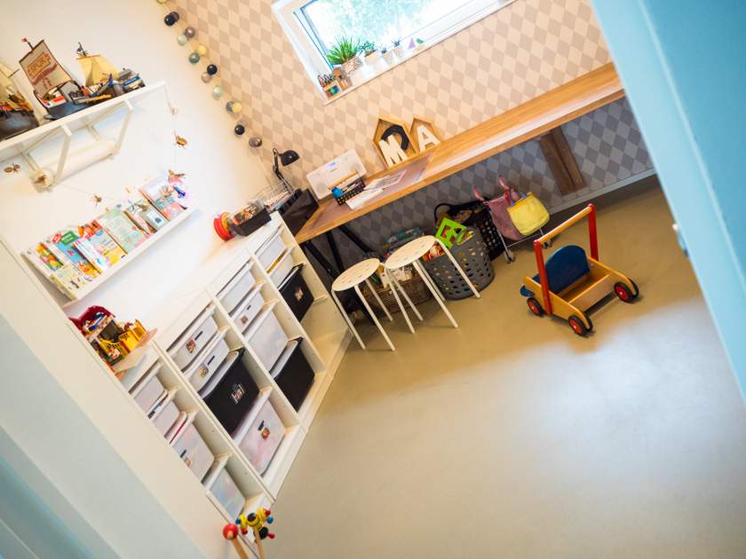 Ordnung im Kinderzimmer - Einblick ins Spielzimmer