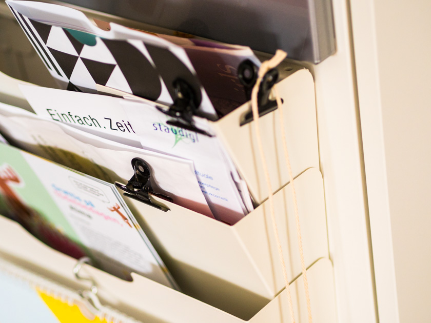 Organisiert ins neue Jahr - Registersystem