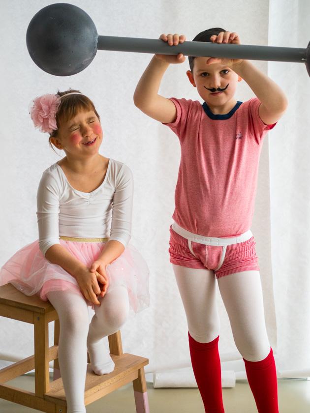 Kostüm Idee für die ganze Familie