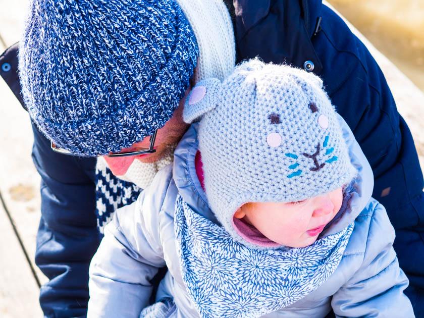 Mit Kindern gesund durch den Winter_Papa mit Tochter