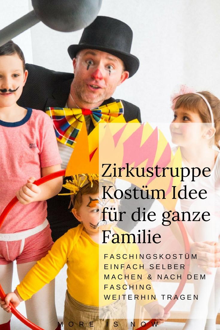 Kosntüm Idee für die ganze Familie