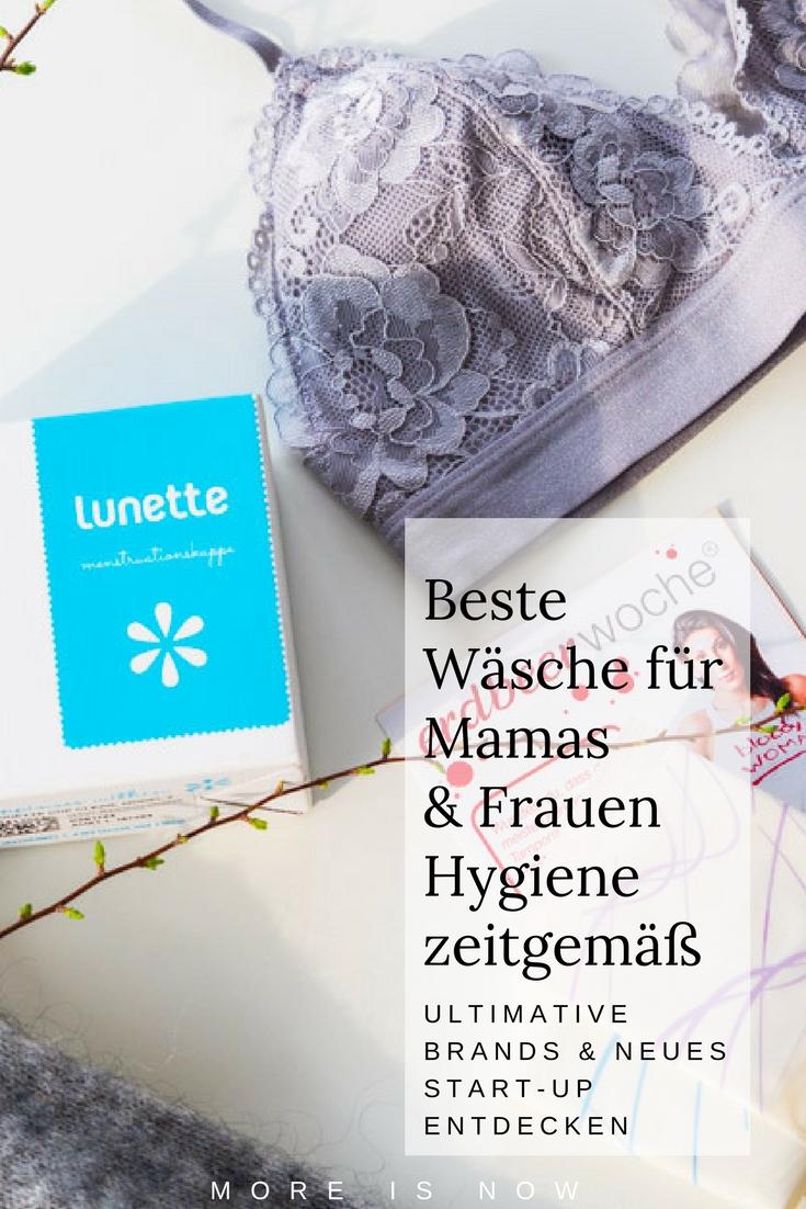 Wäsche für Mamas & Frauenhygiene
